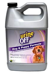 Urine Off for Dogs & Puppies - Gallon (case of 4)