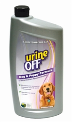 Urine Off for Dogs & Puppies - 32oz Bottle Carpet Injector Cap (case of 12)