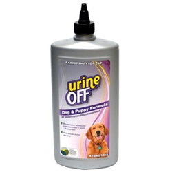 Urine Off for Dogs & Puppies - 16oz Bottle Carpet Injector Cap (case of 12)