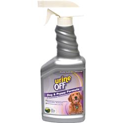 Urine Off for Dogs & Puppies - Hard Surface, Sprayer 500ml/16.9oz. (case of 12)