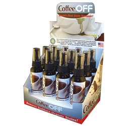 Coffee Off Counter Top Display w/12 4oz bottles