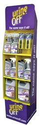 Urine Off Floor Display with 58 pc - Plus Free Shipping!