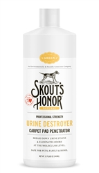 Skout's Honor Professional Strength Urine Destroyer Carpet Pad Penetrator (32oz)
