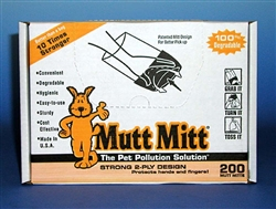 MUTT MITTS DISPENSER PACK 200CT