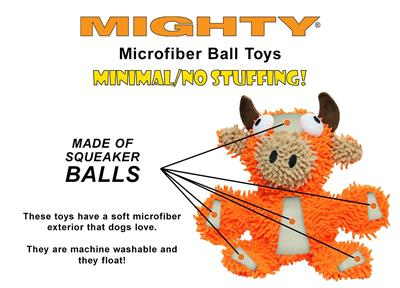 Mighty® Microfiber Ball - Monster