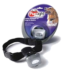 PupLight™ Safety Flashlight in Silver