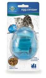 PetSafe Fun-Kitty Egg Cersizer Interactive Toy and Food Dispenser