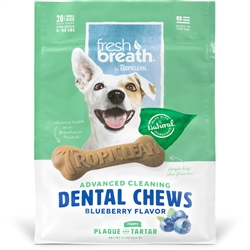 Blueberry Fresh Breath Chews - Small (20ct)