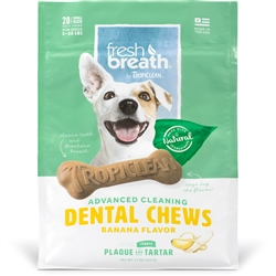 Banana Fresh Breath Chews - Small (20ct)