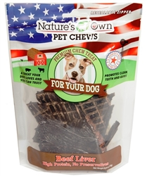 Best Buy Bones Beef Liver Bagged Treats 6oz.