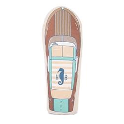 Runabout Speedboat Canvas Toy