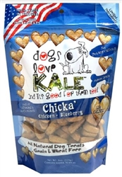 Chicka' 6 oz - Chicken and Blueberry Protein Fortified Resealable Bag