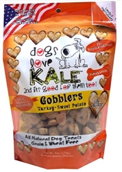 Gobblers  6 oz - Turkey and Sweet Potato  Protein Fortified Resealable Bag