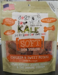 Chicken and Sweet Potato  4 oz Soft Treat Resealable Bag