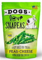 Peas & Cheese  2.5 oz Snapeas Crunchy Treat  Resealable Bag