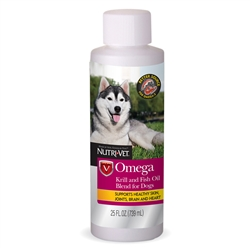Nutri-Vet Omega Krill and Fish Oil Blend Liquid 25oz