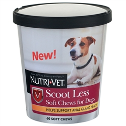 Nutri-Vet Scoot Less Soft Chews 60ct