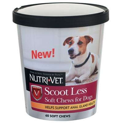 Nutri-Vet Scoot Less Soft Chews 60ct