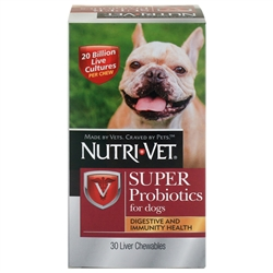 Nutri-Vet Super Probiotics Chewables 30ct