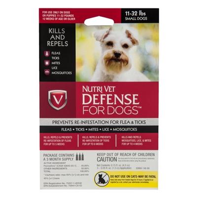 Nutri-Vet K9 Defense for Dogs Flea & Tick and More