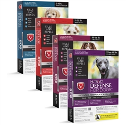 Nutri-Vet K9 Defense for Dogs Flea & Tick and More