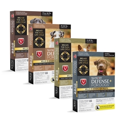 Nutri-Vet K9 Defense PLUS for Dogs Flea & Tick and More