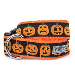 Jack-O'-Lantern Collar & Lead Collection