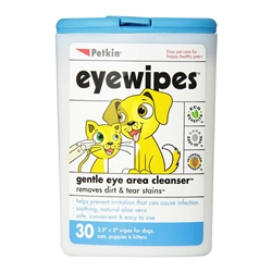 PetKin Eyewipes 30 count