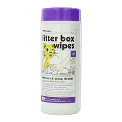 PetKin Litter Box Wipes 40 count