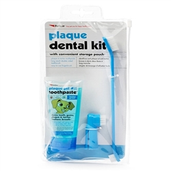 PetKin Plaque Dental Kit - Mint