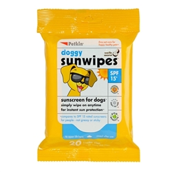 PetKin Doggy Sunwipes - 20 count