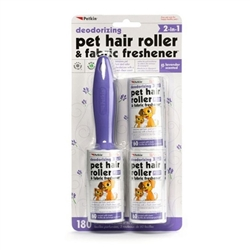 PetKin Pet Hair Roller Lavender - 180 count