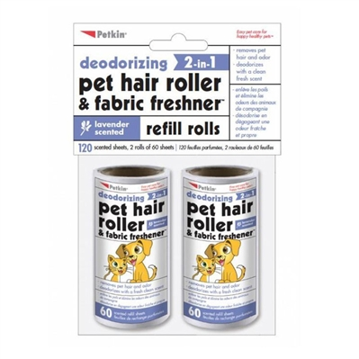 PetKin Pet Hair Roller Refills - Lavender - 120 count