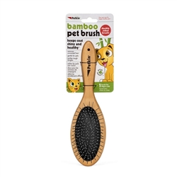 PetKin Bamboo Brush - 2 Sided
