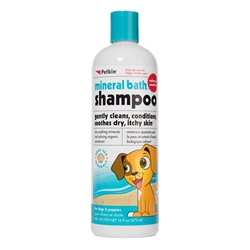 PetKin Mineral Bath Shampoo - 16 oz