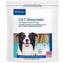 CET Enzymatic Chews for Medium Dogs (30 Chews)