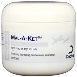 Dechra Mal-A-Ket Wipes by DermaPet (50 ct)