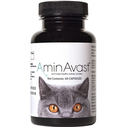 AminAvast Kidney Support for Cats (60 capsules)