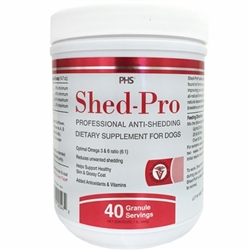 ShedPro Skin and Coat - Granules for Dogs (40 servings)