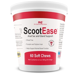 ScootEase - Anal Sac and Gland Support - Soft Chews (60 count)