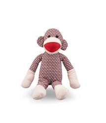 MY BFF WEAVE MONKEY PET PLUSH TOY RED