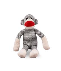 MY BFF WEAVE MONKEY PET PLUSH TOY GRAY