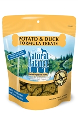 NATURAL BALANCE L.I.T. LIMITED INGREDIENT TREATS DUCK & POTATO