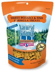 NATURAL BALANCE L.I.T. LIMITED INGREDIENT TREATS SWEET POTATO & FISH