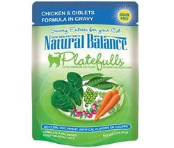 Natural Balance Platefulls Cat Food Product (Case of 24)