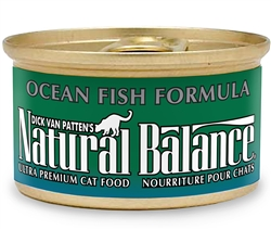 Natural Balance Ocean Fish Formula Canned Cat Food 3oz (Case of 24)