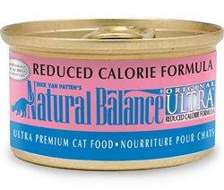 NNatural Balance Original Ultra Reduced Calorie Formula Canned Cat Food (Case of 24)