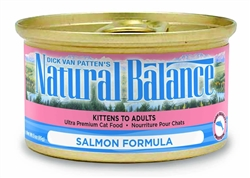 Natural Balance Salmon Formula Canned Cat Food 5.5oz (Case of 24)