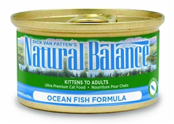 Natural Balance Ocean Fish  Formula Canned Cat Food 5.5oz  (Case of 24)