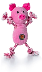 Tugs-O-Fun Pig by Charming Pet
